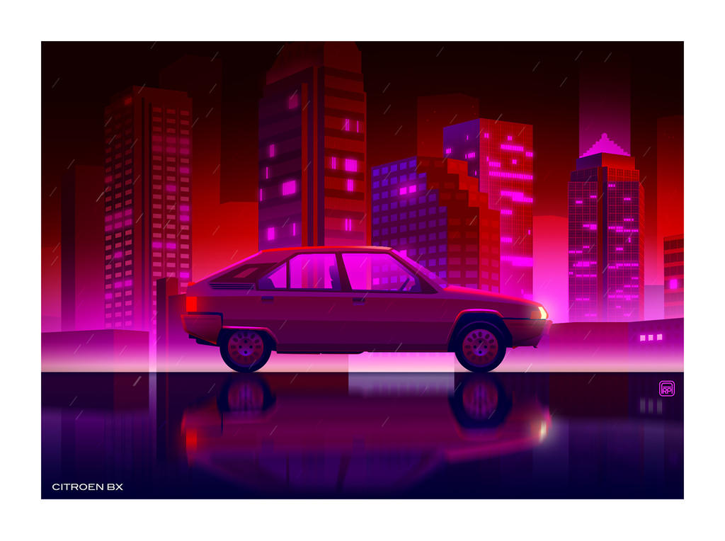 Citroen BX by AmaurydeR