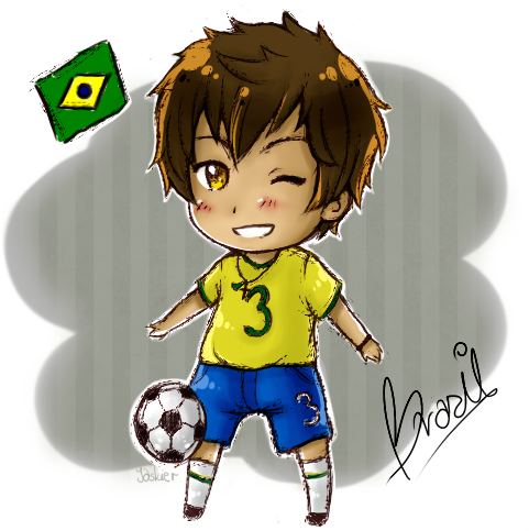 APH: Brazil! by Jaskierka