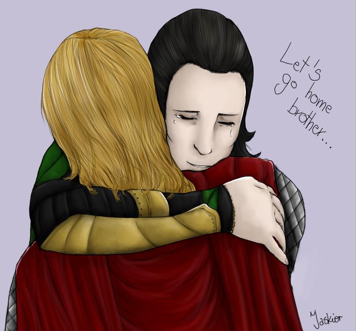 It's okay, brother... by Jaskierka