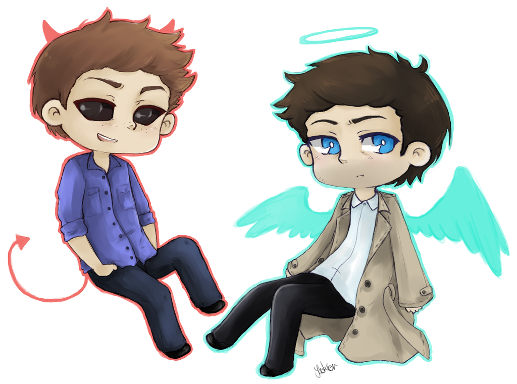 SPN: Angels 'n' Demons by Jaskierka