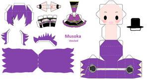 Chibi UTAUloid Musoka by Dragongirl515
