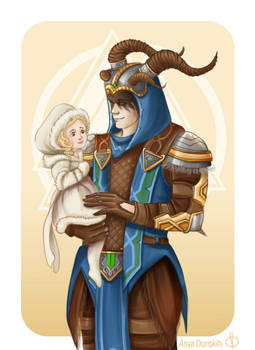 Loki and Hel from SMITE