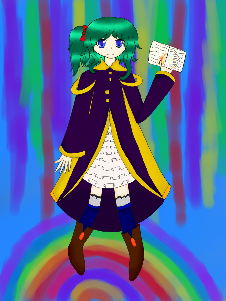 Mage Girl [omfg im so proud of this drawing] by CelestialLucent