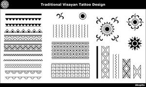 Traditional Visayan Tattoo design by Akopito