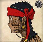Bangut -  Visayan Facial Tattoo