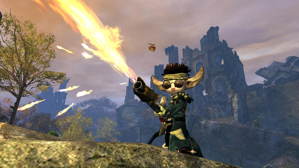 Flame Thrower Asura by Akopito