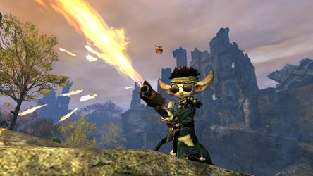 Flame Thrower Asura