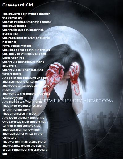 Graveyard Girl by demonrobber