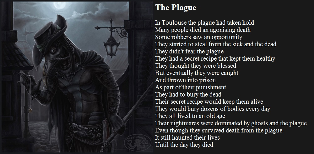 The Plague by demonrobber