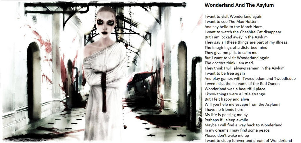 Wonderland And The Asylum by demonrobber