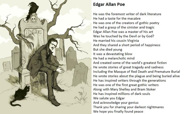 Edgar Allan Poe by demonrobber