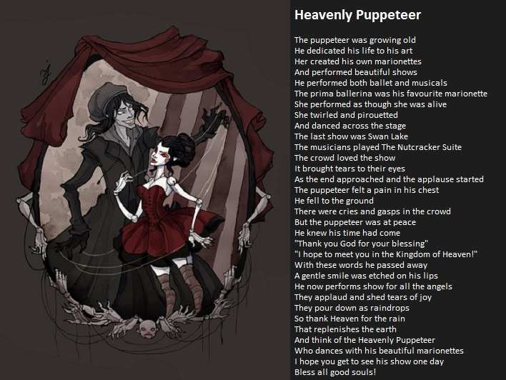 Heavenly Puppeteer by demonrobber
