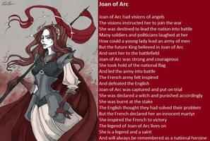 Joan of Arc by demonrobber