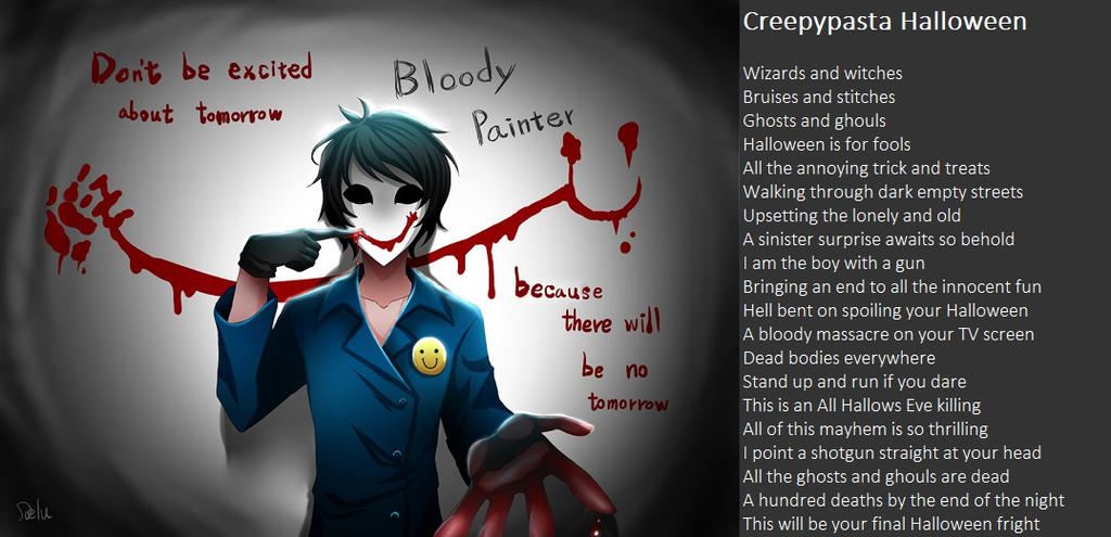Creepypasta Halloween by demonrobber