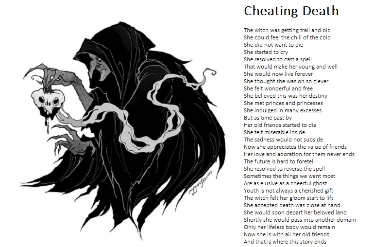 Cheating Death by demonrobber