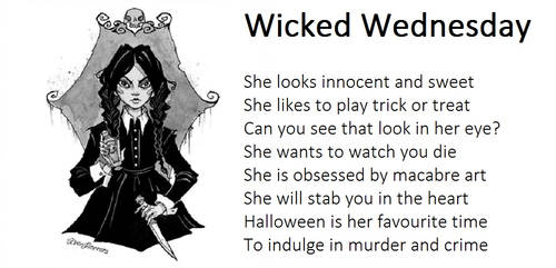 Wicked Wednesday by demonrobber