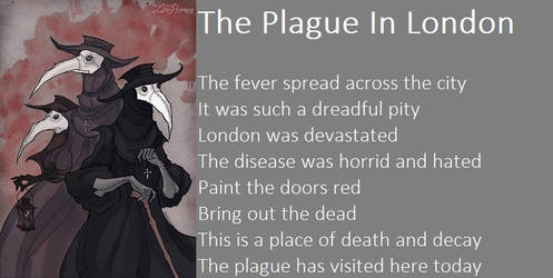 The Plague In London by demonrobber