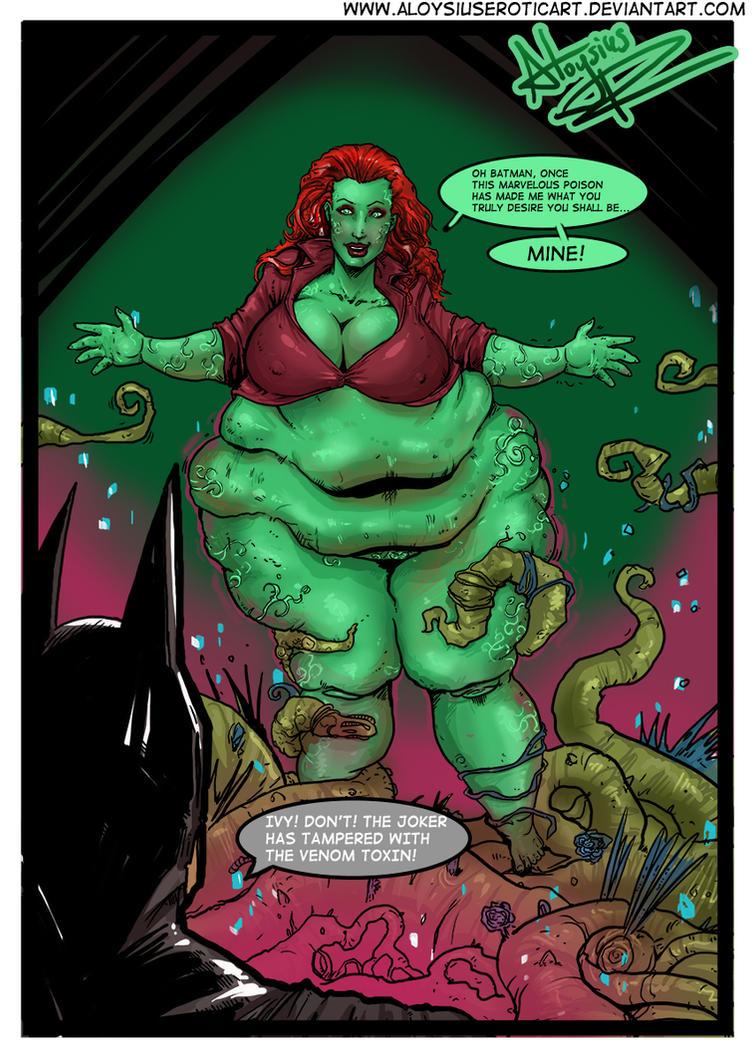 Poison Ivy Arkham Asylum by AloysiusEroticArt