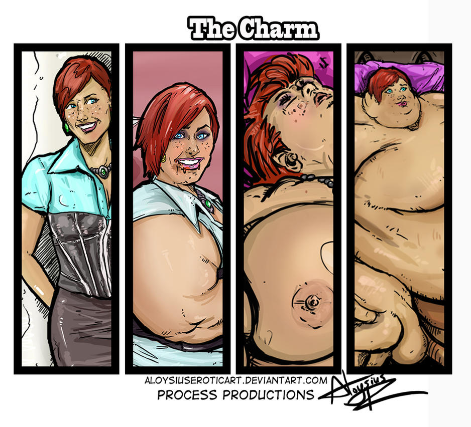 The Charm with Process Productions by AloysiusEroticArt