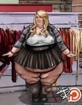 Meghan Trainor SSBBW Weekly Weight Gain