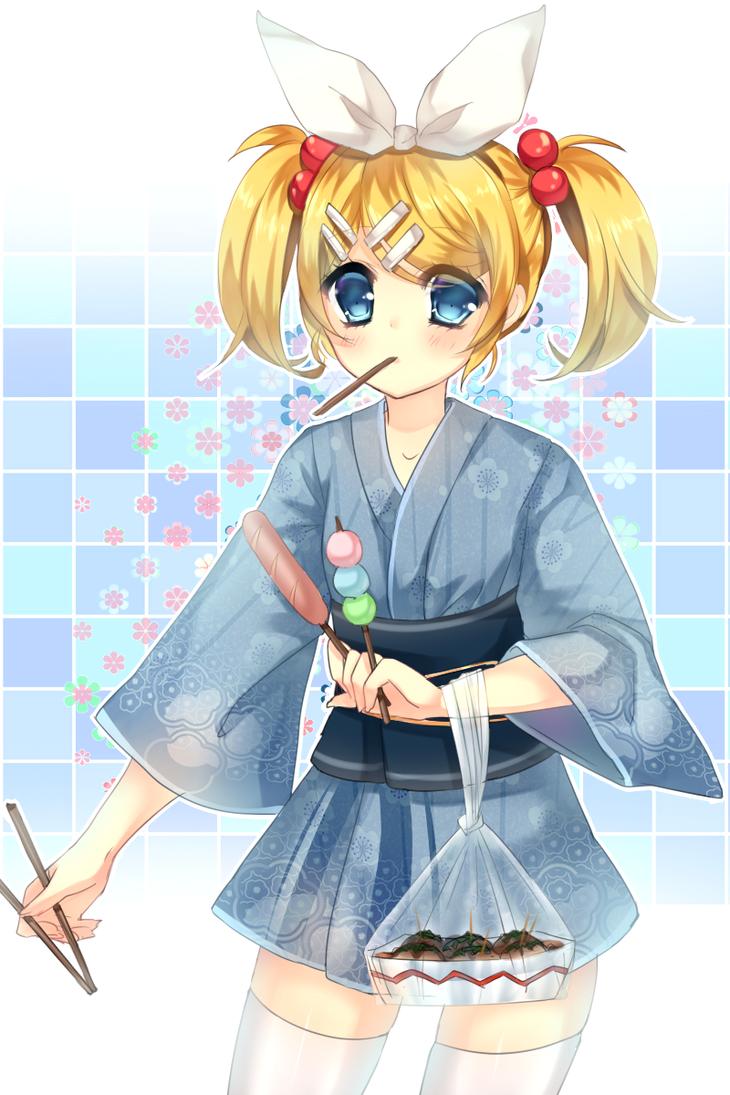 summer Rin by shouu-kun