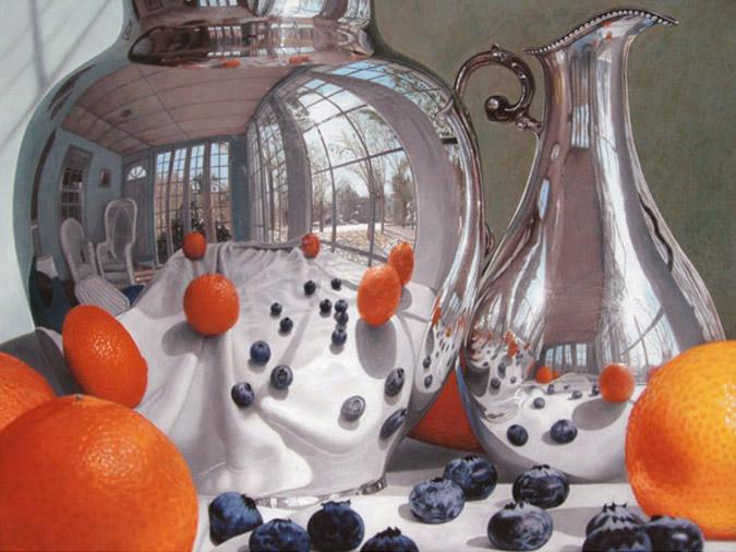 Oranges and Blueberries by GregHaynes