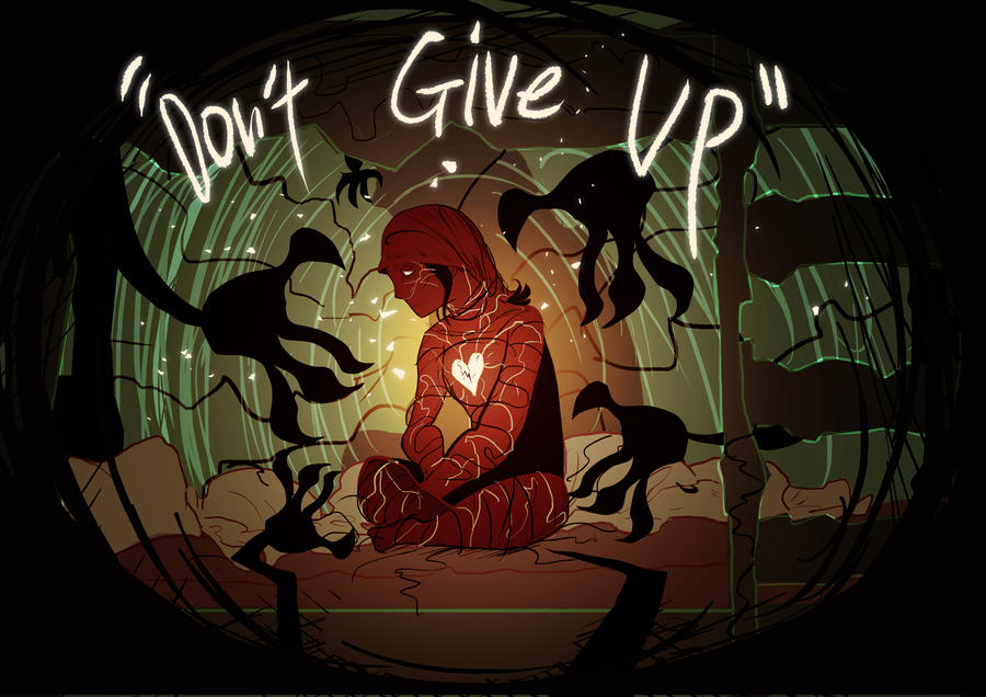 Don't Give Up by Three-Stripes