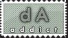 dA addict-non animated by crazykira-stamps