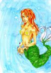 Commission 1 : mermaid