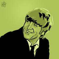 Beatles 2: John, Green by notkristina