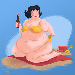 Bikini Babe by Planetsaurus