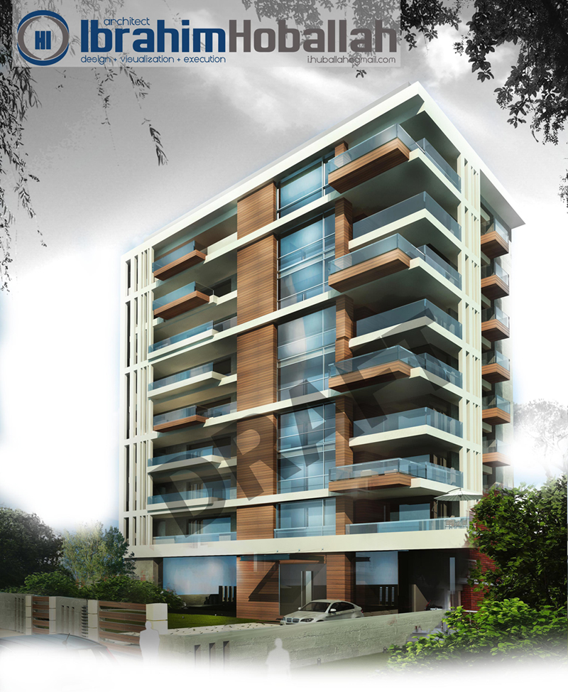 Residential building designs modern house for Design of building house