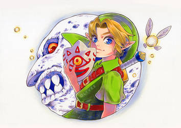 Majora's Mask - The Purest Hero by Olyvee