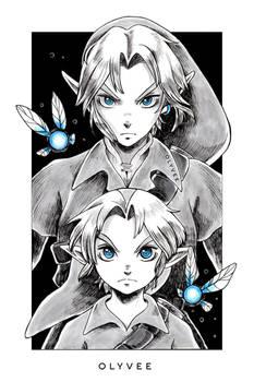 Ocarina of Time - Link [Linktober Day 19]