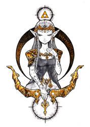 The Legend of Zelda - Princess [Full color]