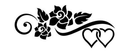Funeral Of Hearts Tattoo - flower tattoo