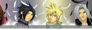 Crisis Core Heros by Akatsuki03