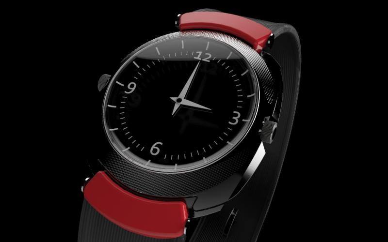 Wrist watch by dedmoo5 on deviantart for Minimal art wrist watch