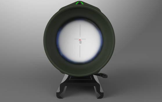 Scope lens test