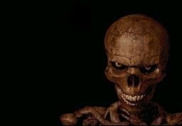 Skeleton raepface by dylrocks95