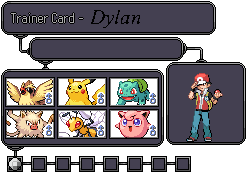 Fire Red Trainer Card by dylrocks95