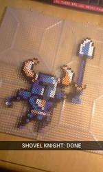 Shovel Knight (Perler Beads)