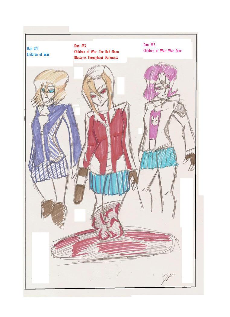 Children Of War Evolution by Hakuru15