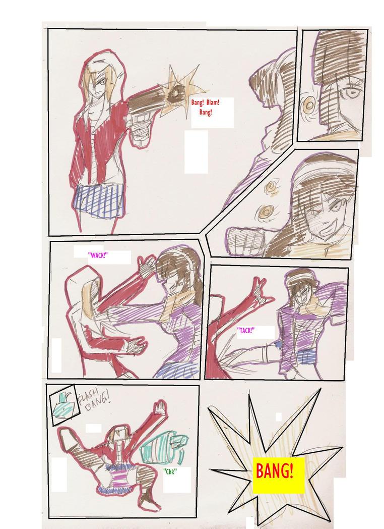 Children of War X USAC: Dan vs Octavia by Hakuru15