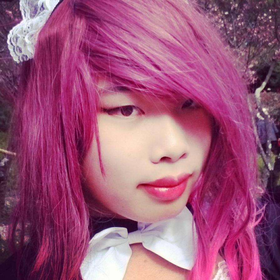 Pink Maid Trap  by Hakuru15