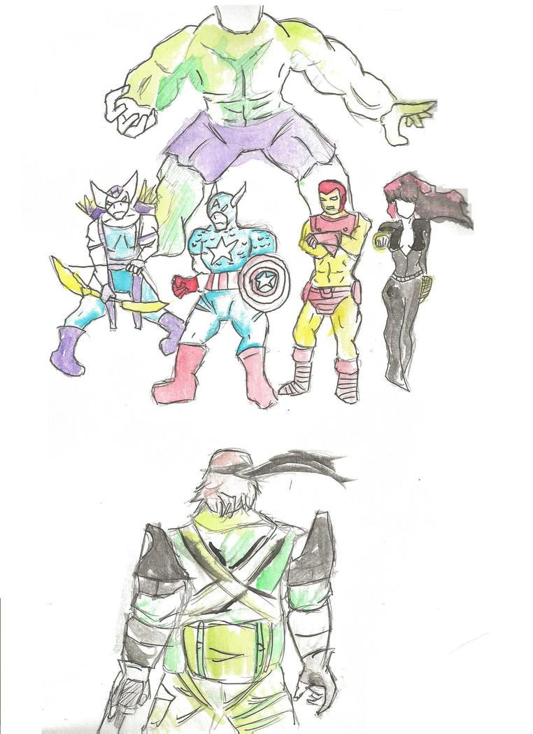 Big Boss vs The Avengers by Hakuru15