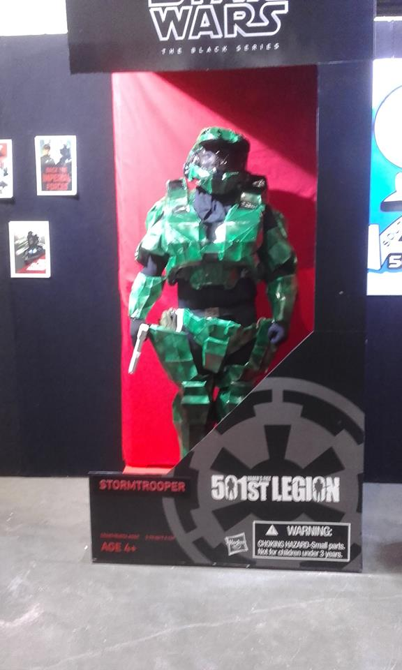 Masterchief figure by Hakuru15