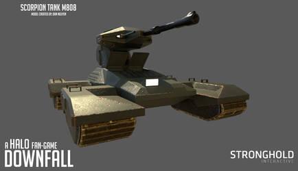 Halo Downfall - Scorpion Tank by Hakuru15