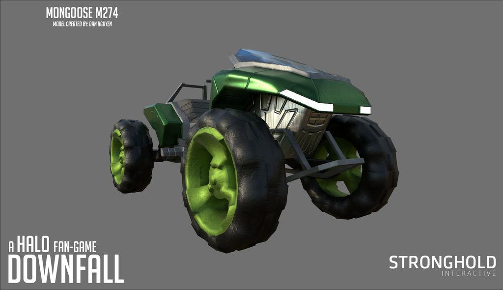 Halo Downfall - Mongoose by Hakuru15