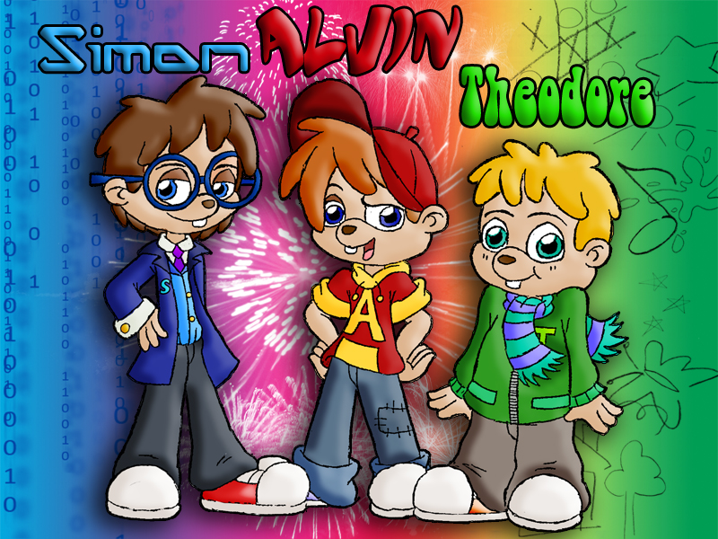 Alvin And The Chipmunks By MadMosh On DeviantArt